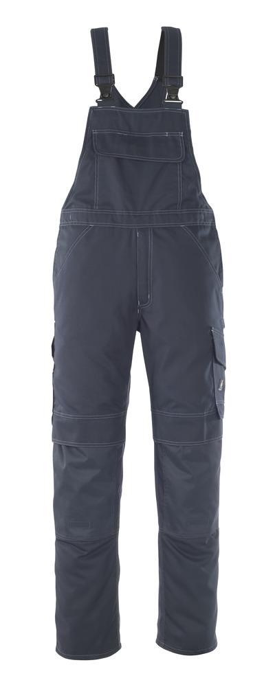 MASCOT® Richmond - dark navy - Bib & Brace with kneepad pockets, lightweight