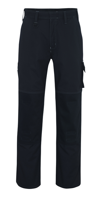 MASCOT® Riverside - dark navy - Trousers with kneepad pockets, high durability