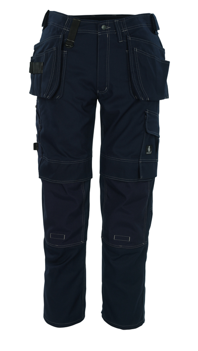 MASCOT® Ronda - navy - Trousers with CORDURA® kneepad pockets and with holster pockets, high durability