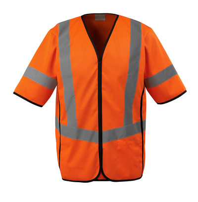 MASCOT® SAFE SUPREME - hi-vis orange - Traffic Vest, class 3.