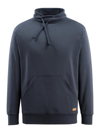 MASCOT® Soho - dark navy - Sweatshirt with high collar, modern fit