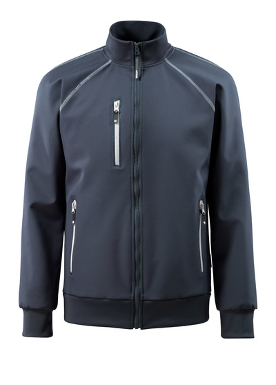 MASCOT® Tamariu - dark navy - Softshell Jacket, water-repellent, stretch