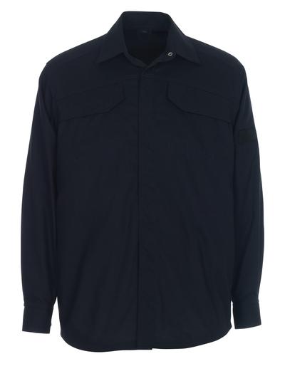 MASCOT® Ternitz - dark navy - Shirt, multi-protective, modern fit
