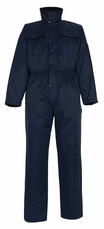 MASCOT® Thule - navy - Winter Boilersuit with pile lining, water-repellent Bearnylon®