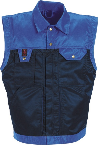 MASCOT® Trento - navy/royal* - Winter Gilet with detachable quilted vest, water-repellent