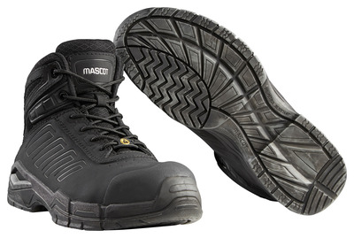 MASCOT® Trivor - black - Safety Boot S3 with laces