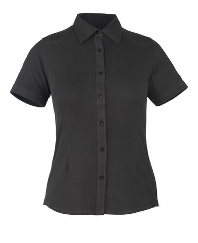 MASCOT® Vatio - black* - Shirt, short-sleeved