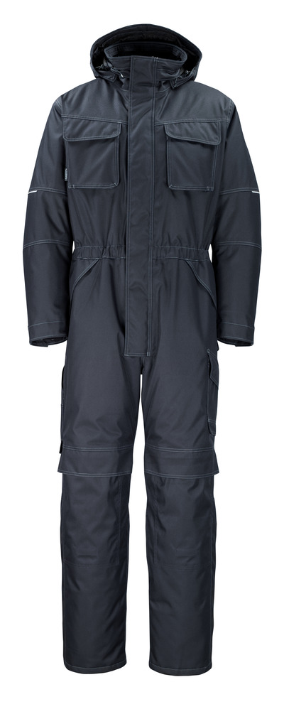 MASCOT® Ventura - dark navy - Winter Boilersuit with pile lining, waterproof