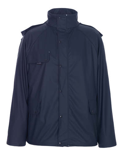 MASCOT® Waterford - navy - Rain Jacket, breathable, wind and waterproof