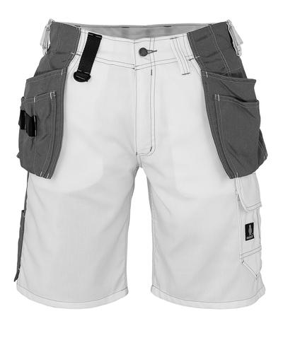 MASCOT® Zafra - white - Craftsmen's Shorts